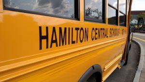 Hamilton Central School Bus